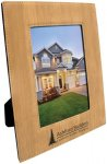 Leatherette Picture Frame -Bamboo Photo Gift Items
