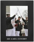 Anodized Aluminum Picture Frame-Black Photo Gift Items