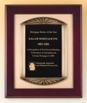 Rosewood Piano Finish Plaque Cast Frame Piano Finish Plaques
