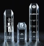 Hexagon Tower Acrylic Award Presidential Acrylic Awards
