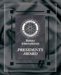 Black Marble Acrylic Award Recognition Plaque Sales Awards