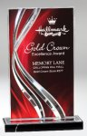 Illusion Acrylic Red Sales Awards