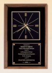 American Walnut Wall Clock Sales Awards