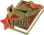 Math Pin Scholastic Trophy Awards