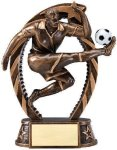 Bronze and Gold Award -Soccer Male  SOCCER TROPHIES