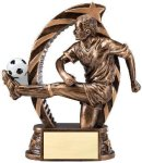 Bronze and Gold Award -Soccer Male  Soccer Trophy Awards