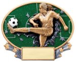 Motion X Oval -Soccer Female Soccer Trophy Awards