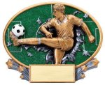 Motion X Oval -Soccer Male  Soccer Trophy Awards