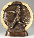 Resin Plate -Softball Female Softball Trophy Awards