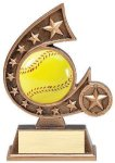 Resin Comet Series -Softball Softball Trophy Awards