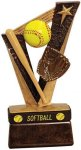 Trophy Band Resin -Softball Sports Band Resin Trophy Awards