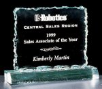 Crushed Ice Square Acrylic Award Square Rectangle Awards