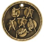 3-D Medal -Track and Field Event  Track Trophy Awards