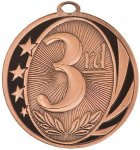 MidNite Star Medal -3rd Place  Track Trophy Awards