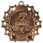 Ten Star Medal -3rd Place  Volleyball Trophy Awards
