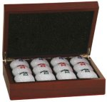 Rosewood Golf Ball Case Wine Gifts